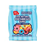 Lady Sarah Gummy Sour Mini Rings (Assorted Flavors), 120g