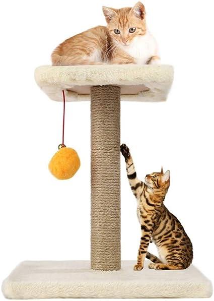 Linana Gato Scratcher Mascota Gato Árbol Cáñamo Cuerda Swing ...