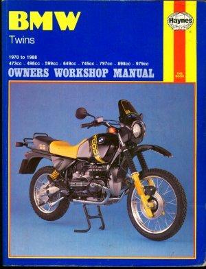 BMW Twins 1970-88 Owner's Workshop Manual