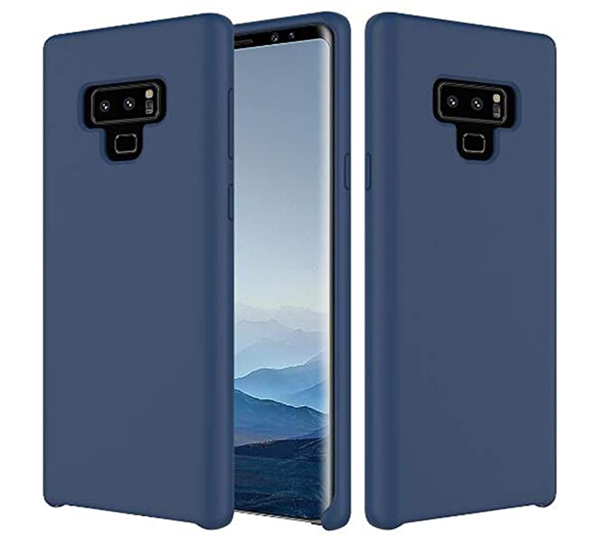 Amazon.com: Case for Galaxy Note 9, Case Liquid Silicone Gel ...
