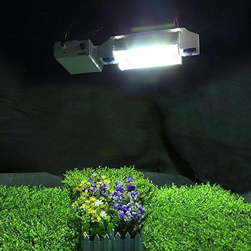 iPower 2-Pack 1000 Watt Double Ended Enhanced Performance Metal Halide MH Grow Light Bulb Lamp With Color Enhanced Full Balanced Spectrum
