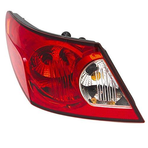 CarPartsDepot Fit 2007-2008 Chrysler Sebring Sedan Rear Facial Brake Light Driver CH2800176