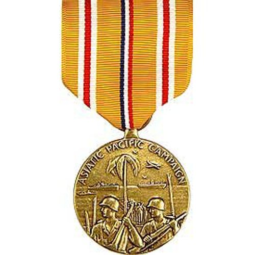 United States Military Armed Forces Full Size Medal - Asiatic Pacific Campaign ()