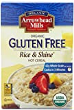 rice n shine - Arrowhead Mills Organic Hot Cereal, Rice & Shine, 24-Ounce Boxes (Pack of 4)