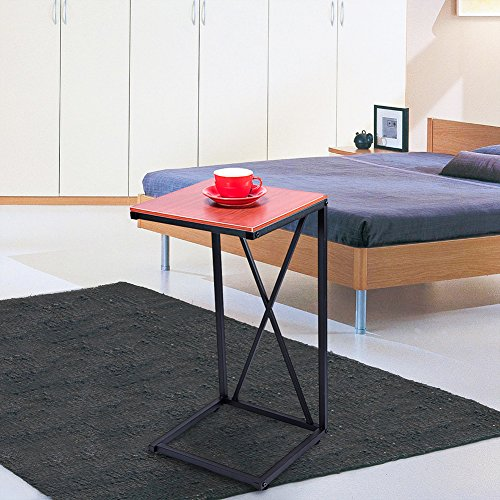 home, kitchen, furniture, living room furniture, tables,  coffee tables 1 on sale MaidMAX Snack Table, 25-Inch-High C-Shaped promotion