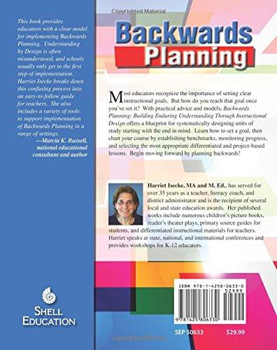 Backwards planning professional resources harriet isecke backwards planning professional resources harriet isecke 9781425806330 amazon books malvernweather Image collections