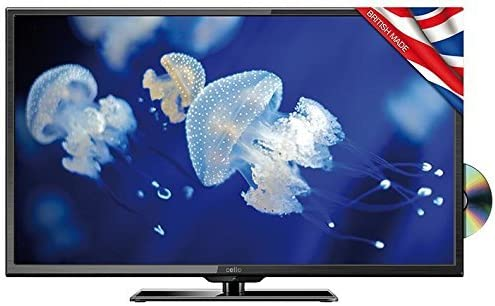 Cello 32 HD Ready LED TV Freeview/Reproductor de DVD C32227 F – DVD