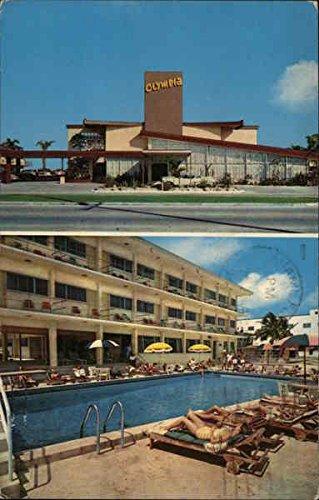 (Olympia Resort Motel Miami Beach, Florida Original Vintage Postcard)
