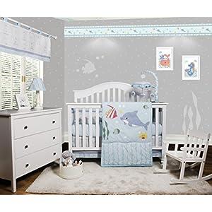 51AGgMQy0SL._SS300_ Nautical Crib Bedding & Beach Crib Bedding Sets