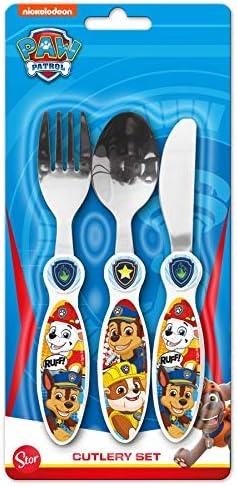 KIDS CHARACTER CUTLERY SET,Paw Patrol,Peppa,Thomas,Spoon,Fork,Boys,Girls,Gift.