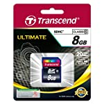 Transcend 8GB Class 10 SDHC Card (TS8GSDHC10) 4 Compatible with all sdhc-labeled host devices (not compatible with standard SD) Rohs compliant Easy to use, plug-and-play operation