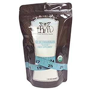 Trim Healthy Mama Non-Organic Glucomannan Dietary Fiber 1 Pound