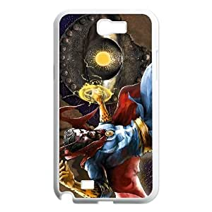 Doctor Strange Samsung Galaxy N2 7100 Cell Phone Case White Qbhaw