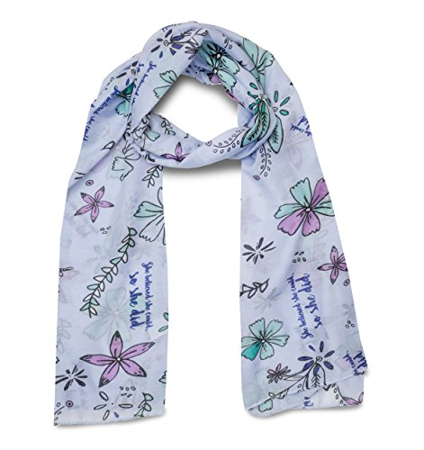 Beautiful Floral Scarf - 8