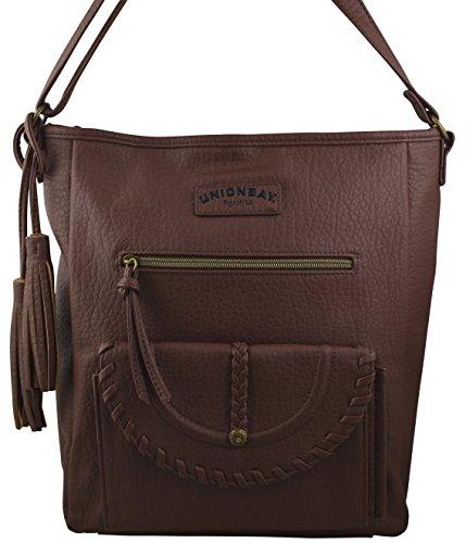 Faux Leather Handbag Purse Bag - 8
