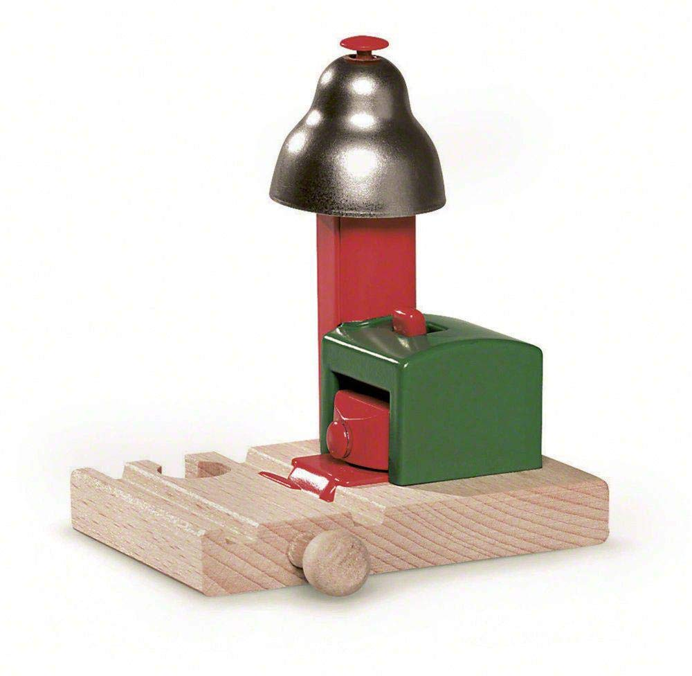 BRIO World - 33754 Magnetic Bell Signal | Accessory for Toy Train Sets for Kids Ages 3 and Up by Brio