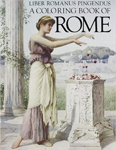 A Coloring Book Of Rome Bellerophon Books Nancy Conkle 9780883880616 Amazon