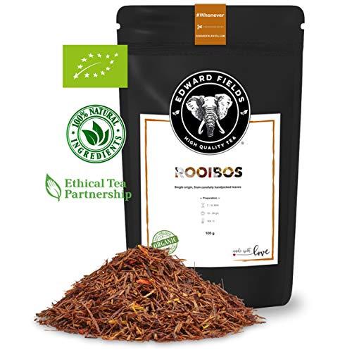 Edward Fields - Rooibos Organico de alta calidad Cantidad 100g Formato Granel Origen Sudafrica Detox, antioxidante
