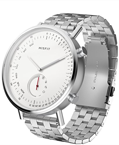 Cheap Misfit Wearables MIS5018 Command Hybrid Smartwatch with Stainless Steel Band