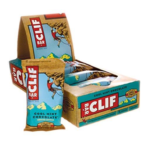 Clif Bars Energy Bar - Cool Mint Chocolate 12 (Cool Bar)