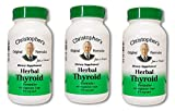Dr. Christopher's Formula Herbal Thyroid, 100 Count (Pack of 3) For Sale