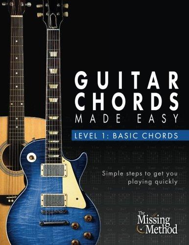 Amazon.com: Guitar Chords Made Easy, Level 1 Basic Chords: Simple ...