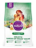 Halo Vegan Dry Dog Food, Garden of Vegan Recipe, 4...