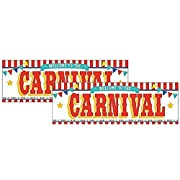 Fun Express Plastic Carnival Banner (2-Pack)