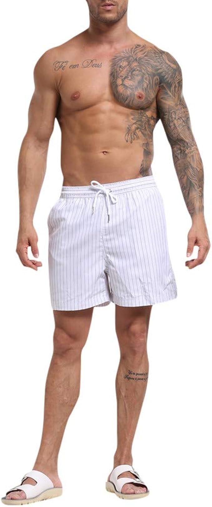 Pantalones Cortos De Natacion Shorts para Hombres Verano ...