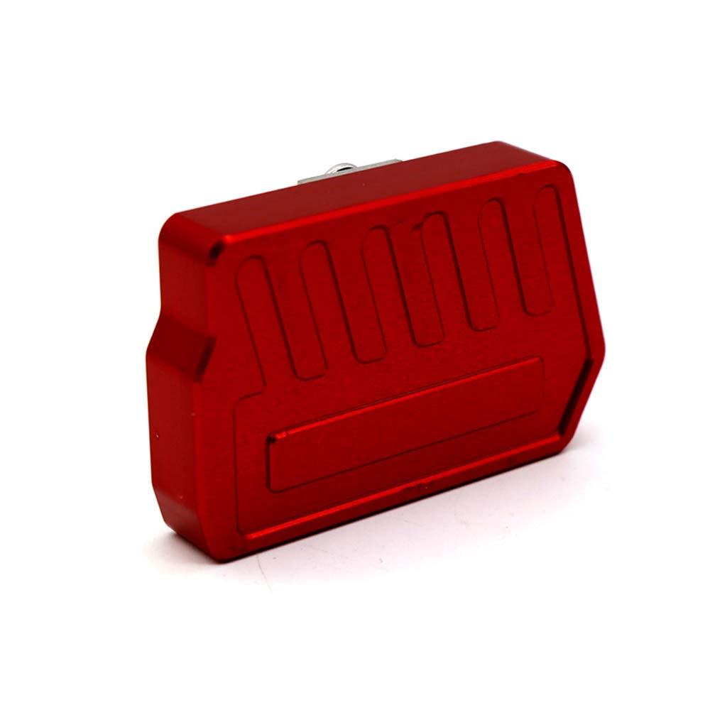 Red Easygo for NC700S NC700X NC750S NC750X NC 750 700 S//X Motorcycle Rear Foot Brake Lever Pedal Enlarge Extension Peg Pad Extender