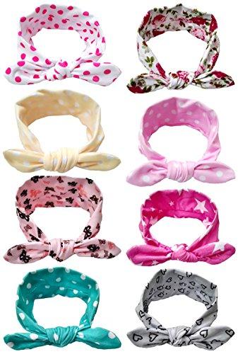 Qandsweet Baby Elastic Hoops Headbands