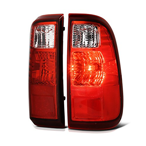 VIPMOTOZ Red Lens OE-Style Tail Light Lamp Assembly For 2008-2016 Ford F-250 F-350 Superduty Pickup Truck, Driver & Passenger Side
