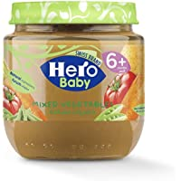 Hero Baby Mixed Vegetable Jar, 171051, 120 gm