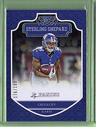 2016 Panini Chivalry 206 Sterling Shepard Rookie Year