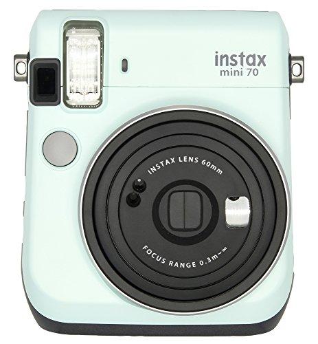 Fujifilm Instax Mini 70 – Instant Film Camera (ICY Mint)
