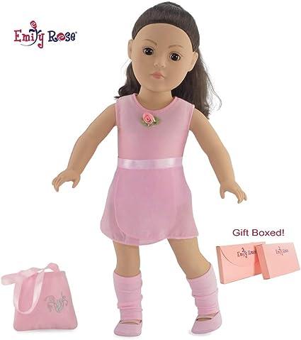 """Lavender Ballerina Dress /& Slippers made for 18/"""" American Girl Dolls"""