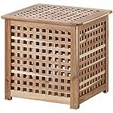 Ikea HOL - Side table, acacia - 50x50 cm
