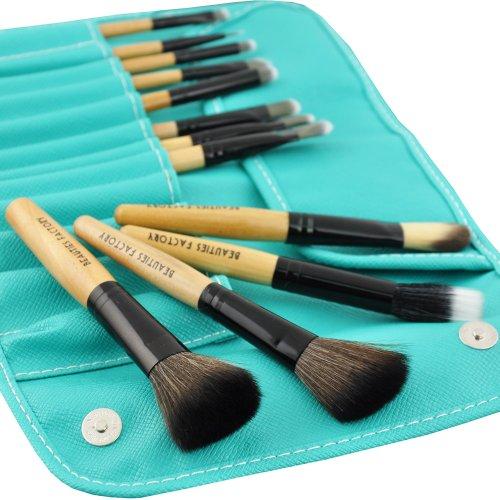 Beauties-Factory-12pcs-Makeup-Brush-Set-Turquoise