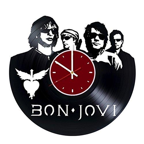 Famouse Rock Band Vinyl Wall Clock Living Room Home Decor