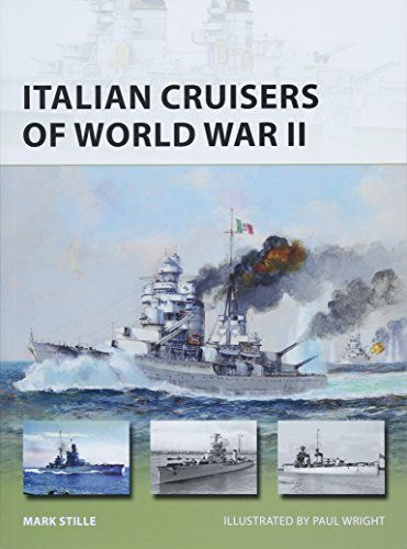 Italian Cruisers of World War II (New Vanguard)