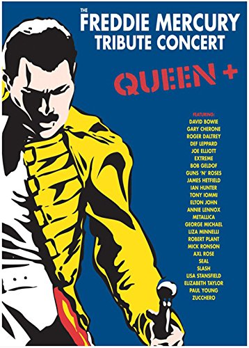 THE FREDDIE MERCURY TRIBUTE CONCERT QUEEN + ( 1992 / 2003 ) 3 x DVD9 LPCM 2.0 / DTS 5.1 ENG sub ITA DDNCREW.