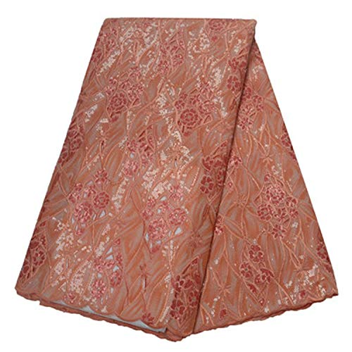 Embroidered Lace Fabric for Party Dress,as picture5