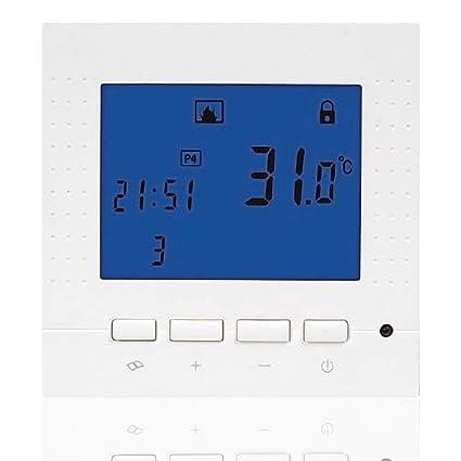 beok tol43s serie programable calefacción por suelo radiante Termostato LCD pantalla inteligente controlador de temperatura ambiente