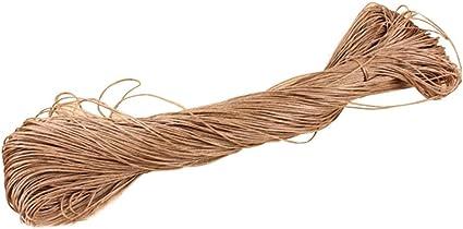 6,8,10mm Natural Jute Hessian Rope Cord String Cord Twine Art Craft DIY 50-500m