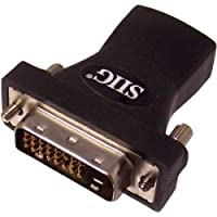 SIIG HDMI TO DVI ADAPTER F/M BLACK / CB-000052-S1 /