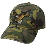 Levi's Men's Washed Baseball Cap with Eagle Patch, Camo, One Size