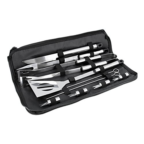 Professional BBQ Grill Tool Set with Storage Bag ()
