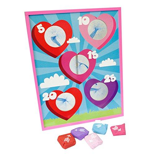 Fun Express Valentine's Day Bean Bag Toss Game
