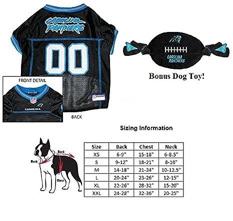 carolina panther dog jersey