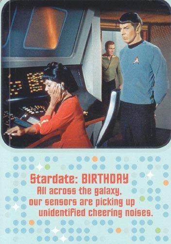 Amazon greeting cards birthday star trek stardate birthday greeting cards birthday star trek quotstardate birthday all across the bookmarktalkfo Image collections
